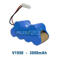Batterie pour aspirateur Shark V1950 - 7.2V 3000mAh NiMH