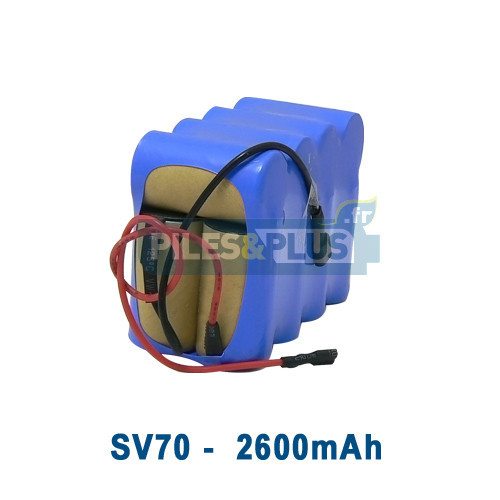 Batterie pour aspirateur Shark SV70 - 14.4V 2600mAh NiMH