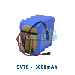 Batterie pour aspirateur Shark SV70 - 14.4V 3000mAh NiMH