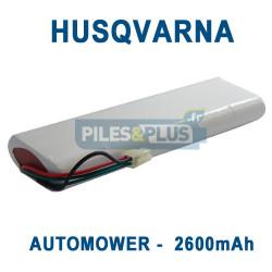 Batterie pour tondeuse Husqvarna Automower 18V 2600mAh NiMH