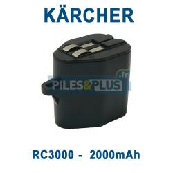 Batterie pour aspirateur Kärcher RC3000 6V 2000mAh