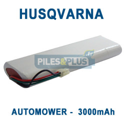 Batterie pour tondeuse Husqvarna Automower 18V 3000mAh NiMH