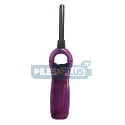 Briquet Allume-tout à gaz - rechargeable - flamme réglable - OEAGNO