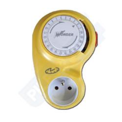 Programmateur journalier mécanique - IP20 - jaune