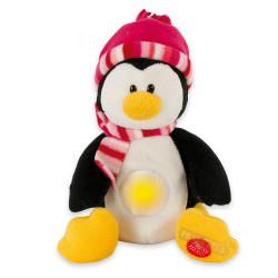 Veilleuse Peluche Musicale - Paula le pingouin