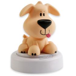 Lampe veilleuse bébé - Petit chien LED à piles