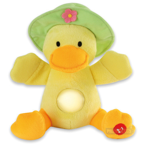 Veilleuse Peluche musicale - Bella le canard