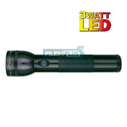 Lampe torche Maglite LED 2D noire - ML2 - 25,4cm - LED 3W