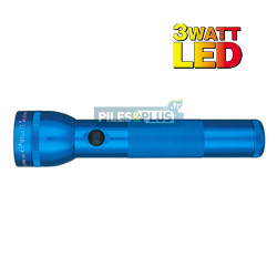 Lampe torche Maglite LED 2D bleue - ML2 - 25,4cm - LED 3W