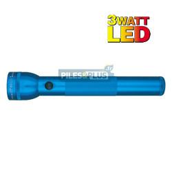 Lampe torche Maglite LED 3D bleue - ML3 - 31,3cm - LED 3W