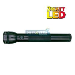 Lampe torche Maglite LED 3D noire - ML3 - 31,3cm - LED 3W