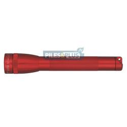 Lampe Maglite mini AA rouge - coffret + 2 AA