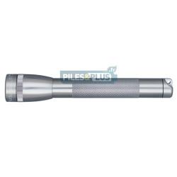 Lampe Maglite mini AA grise - coffret + 2 AA - MGM2A09