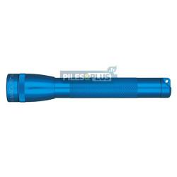Lampe Maglite mini AA bleue - coffret + 2 AA