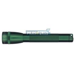 Lampe Maglite mini AA vert foncé - coffret + 2 AA