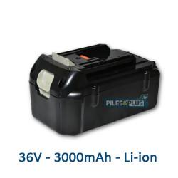 Batterie 36 volts pour outil Makita ou Dolmar