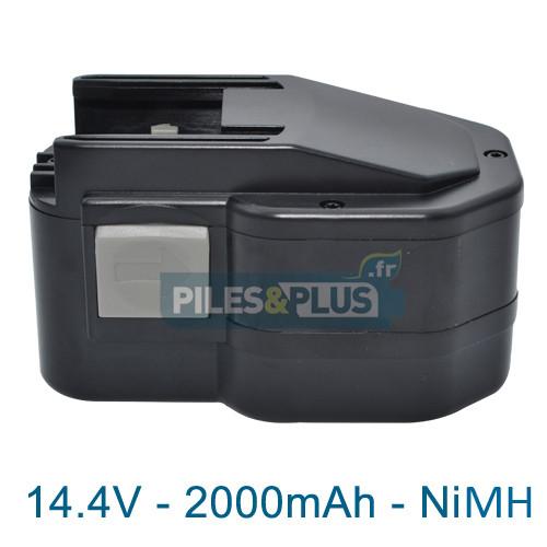 Batterie pour AEG BXS14.4 - 14.4V NiMH 2000mAh