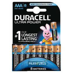 8 Piles AAA - Duracell