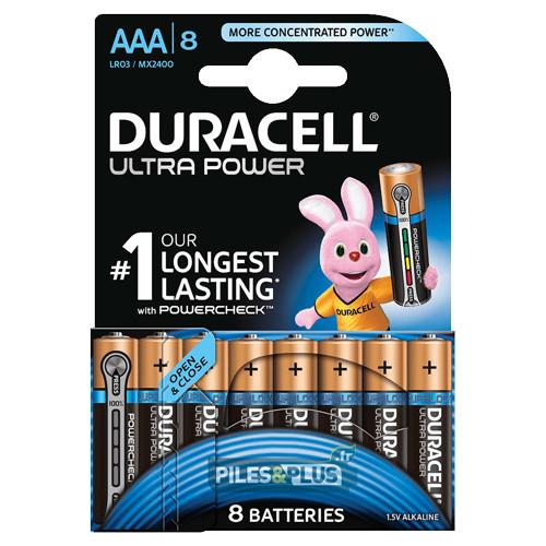 8 Piles AAA - Duracell