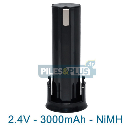 Batterie pour AEG ABS6 - 2.4V NiMH 3000mAh
