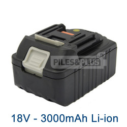 Batterie 18V Lithium-Ion 3.0Ah type Makita BL1830