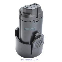 Batterie pour AEG L1215 - 12V Li-ion 1500mAh