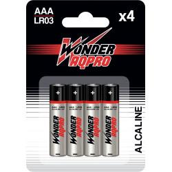 Pile AAA LR03 - 1.5V - WONDER