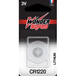 Pile bouton CR1220 - 3V - Lithium