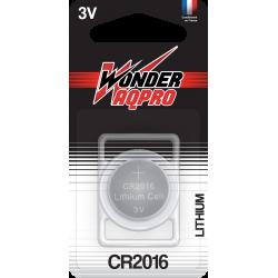 Pile CR2016 - 3V - WONDER...
