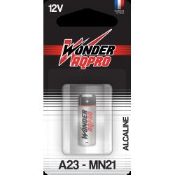 Pile 23A - 12V - WONDER