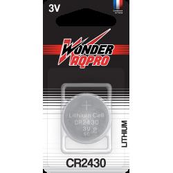 Pile CR2430 - 3V - WONDER...