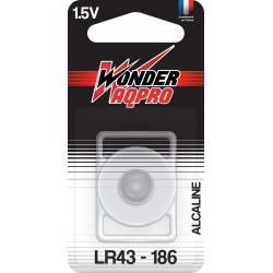 Pile LR43/186 - 1.5V -...