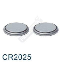 Pile bouton CR2025 - pile lithium Energizer 3V - par 2