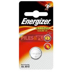 Pile bouton LR9 - V625 - pile alcaline PX625G Energizer 1,5V - par 1