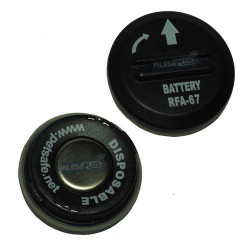 Pile colliers pour chien - Pile Petsafe RFA 67D - 6V Lithium - par 2