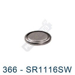 Pile montre 366 - SR1116SW - oxyde d'argent Energizer - 1,55V - par 1