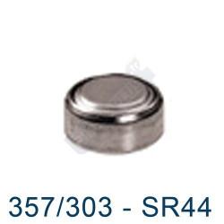 Pile montre 357/303 - SR44 - oxyde d'argent Energizer - 1,55V - par 1
