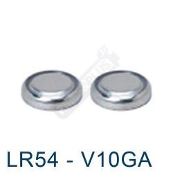 Pile bouton LR54 - V10GA - pile alcaline 189 Energizer 1,5V - par 2