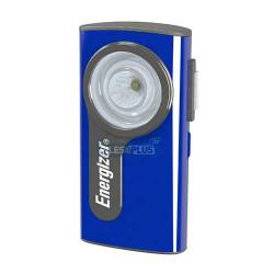 Boîtier plat Métal LED - Piles 2 AA - Energizer - Compact
