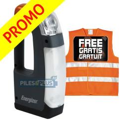 Lampe automobile d'urgence Energizer + gilet sécurité GRATUIT