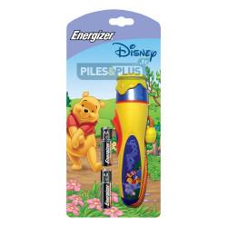 Lampe torche enfant Disney Winnie - Energizer + 2 AA