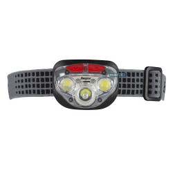 Lampe Frontale - 250 Lumens 3 LED blanches/2 LED rouges - Energizer
