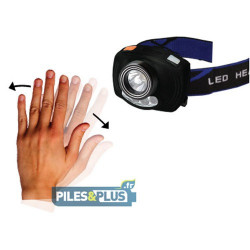 LAMPE FRONTALE LED CREE - DETECT MOUVEMENT