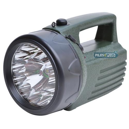 Projecteur Rechargeable LED 3W + 12 LED - EXPLOREUR 2