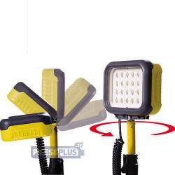Projecteur de chantier rechargeable 24 LED - Peli 9430 - Autonom. 15h