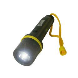 Lampe Torche Caoutchouc Mariner pour 2 piles R6 AA