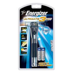 Led Watt Très 3 Torche Lampe Puissante Aa 2 Energizer Lr6 Métal mIyb7gYfv6