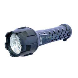 Lampe torche LED caoutchouc Drakar - 2D