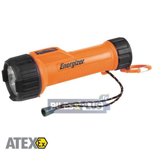 Torche Antidéflagrante ATEX 2 D LED 1W Norme Industrielle - Energizer