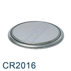Pile Bouton CR2016 Lithium - 3V Energizer